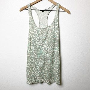 Truly Madly Deeply Leopard Tank Women Large